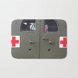 red cross Bath Mat