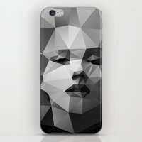 monroe iPhone & iPod Skins featuring Monroe by David
