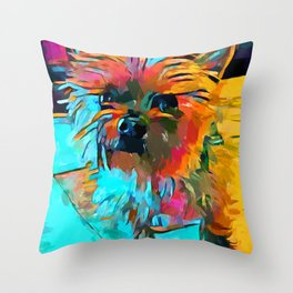 Shih Tzu 3 Throw Pillow