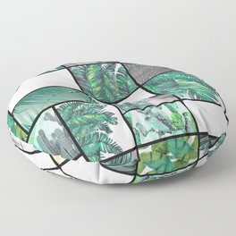 cool tropic Floor Pillow