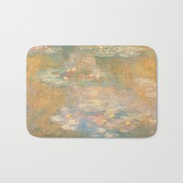 Water Lilies Claude Monet 1908 Bath Mat