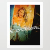 cocaine Art Prints featuring cocaine by ARTito