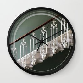 Stairway to heaven - circle graphic Wall Clock