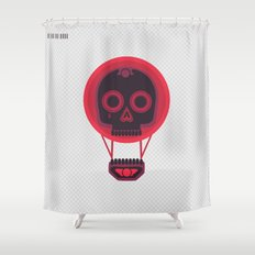 A Bad Dream Shower Curtain