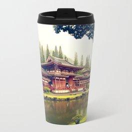 Byodo-In Temple/ Hawaii Travel Mug