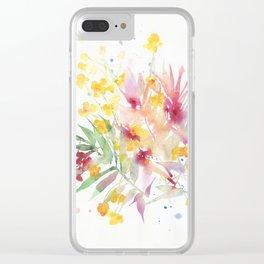 fiori I Clear iPhone Case