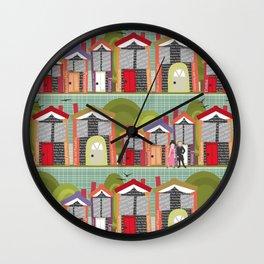Literally Living in a Jane Austen Novel Wall Clock