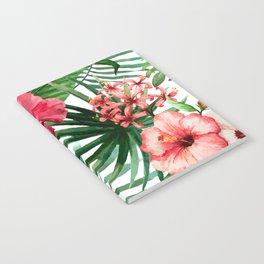 FLOWERS WATERCOLOR 8 Notebook