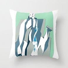 Thunder Falls Throw Pillow