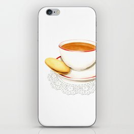 Cup of Tea and a biscuit iPhone Skin