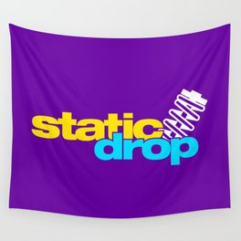 Static drop v3 HQvector Wall Tapestry