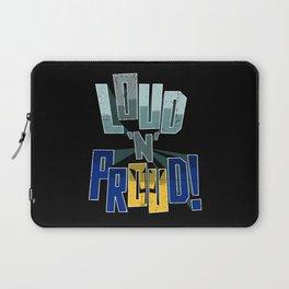 Barbados Pride Loud N Proud Laptop Sleeve