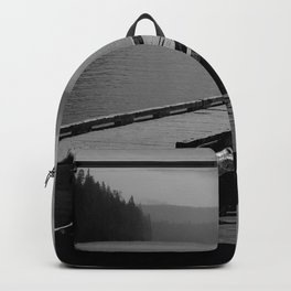 Suttle Lake in Gray and Black Backpack