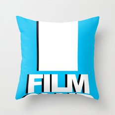 Film Club Throw Pillow