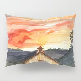 Country Sunset Pillow Sham