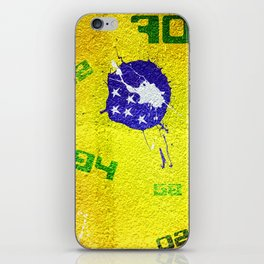 Brazil World Cup iPhone Skin