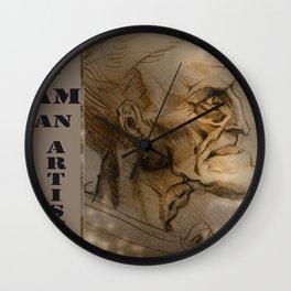 old guy Wall Clock