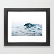 wave Framed Art Print