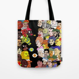 All went to see the game Tote Bag