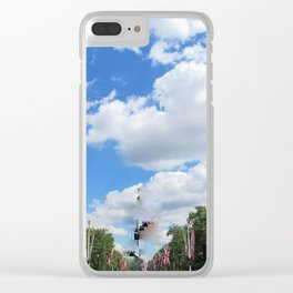 Thoroughfare to the Palace Clear iPhone Case