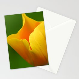 Glowing Yellow Stationery Cards