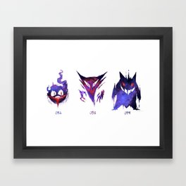 Ghostly Trio Framed Art Print