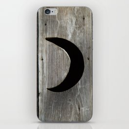 Outhouse Moon iPhone Skin