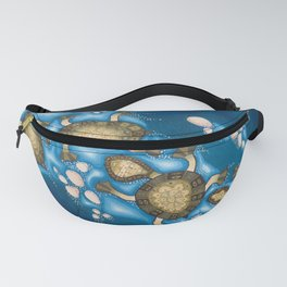 Turtle journey 2 Fanny Pack