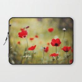 Wild Anemones Laptop Sleeve