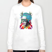 karl Long Sleeve T-shirts featuring karl by DIVIDUS