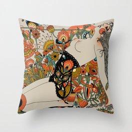 Thrust Throw Pillow