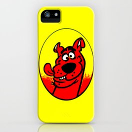 dog scooby iPhone Case