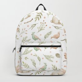 Cute Bunny patterns Backpack