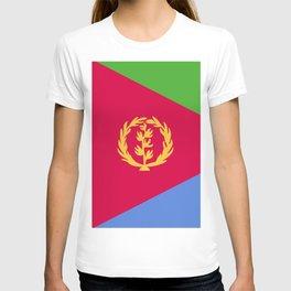 Eritrea flag emblem T-shirt