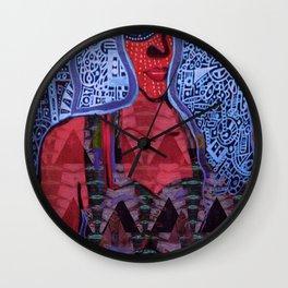 Caribbean Deity Lady of the Sea Yemaya Acrylic Portrait Wall Clock