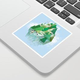 Mysterious Island Sticker