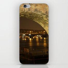 Under the Charles Bridge iPhone Skin