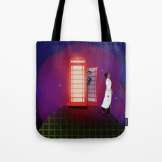 Community Inspector Spacetime  Tote Bag