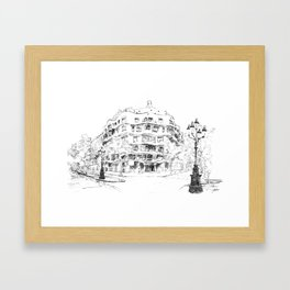 Bcn 9 Framed Art Print