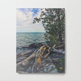 Together on the beach Metal Print