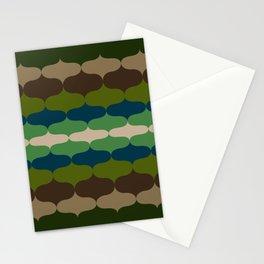 Retro 70s Pattern 4 Stationery Cards