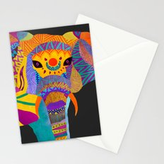 Whimsical Elephant II Stationery Cards