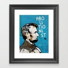 U.S. Presidents: Abraham Lincoln Framed Art Print