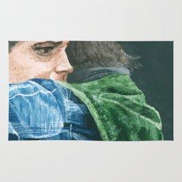 Supernatural: Dean & Bobby Rug