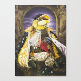 Lord Squawk of Squawkonia Canvas Print
