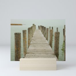 Wooden Pier Mini Art Print