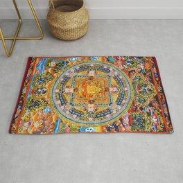 Mandala Buddhist 2 Rug