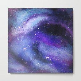 PAINTED GALAXY (Painted, stars, space, milky-way) Metal Print