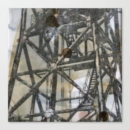 Tower on mylar  Canvas Print