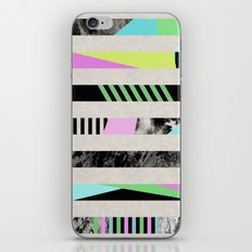 Crazy Lines - Pop Art, Geometric, Abstract Style iPhone & iPod Skin